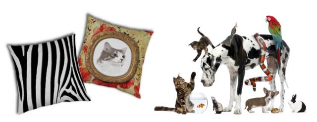 Animaux - Qu'ils soient de compagnies, sauvages, endormis ou farouches, nos amis les animaux ont aussi leur place sur les produits de déco. Bienvenue dans l'univers des chiens, chats, baleines et autres animaux pour que votre décoration se fasse 30 millions d'amis !