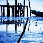 7-Bleu mer reflets