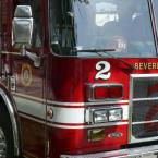 Camion pompier americain