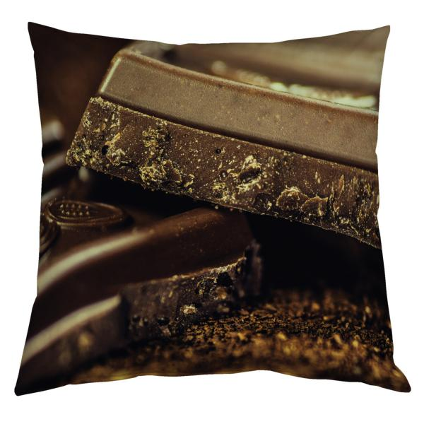 Coussin chocolat