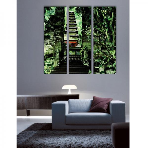 Triptyque chemin de Bali