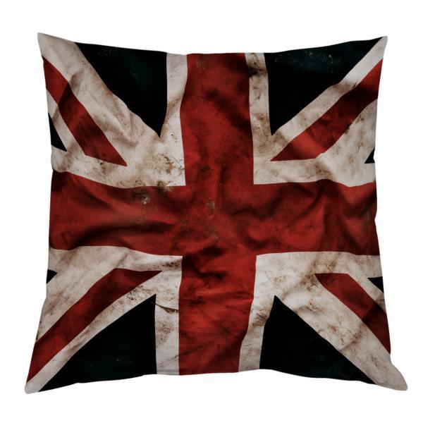 Coussin drapeau anglais vintage