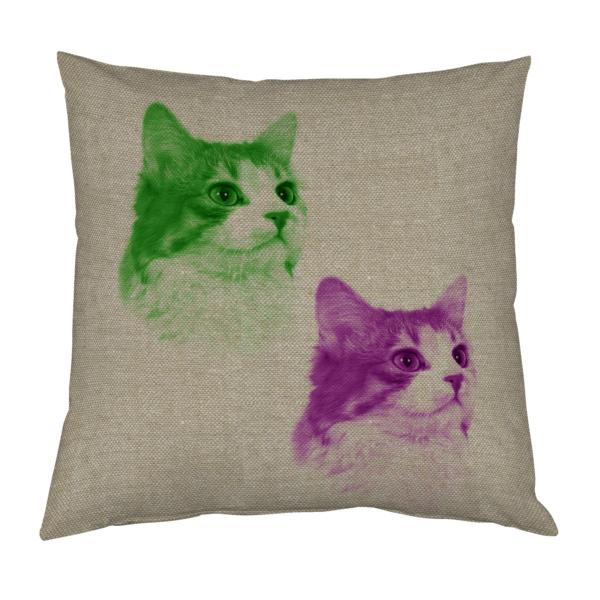 Coussin-chat-pop-art-