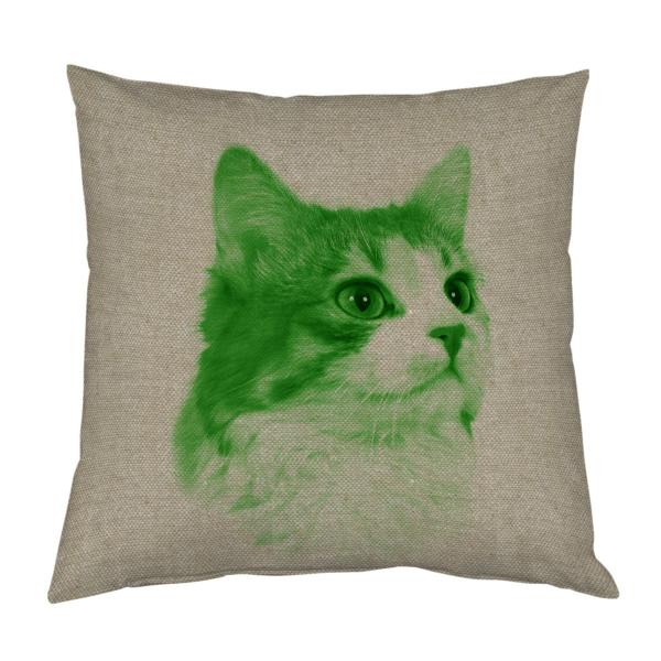 COUSSIN-CHAT-VERT-LIN
