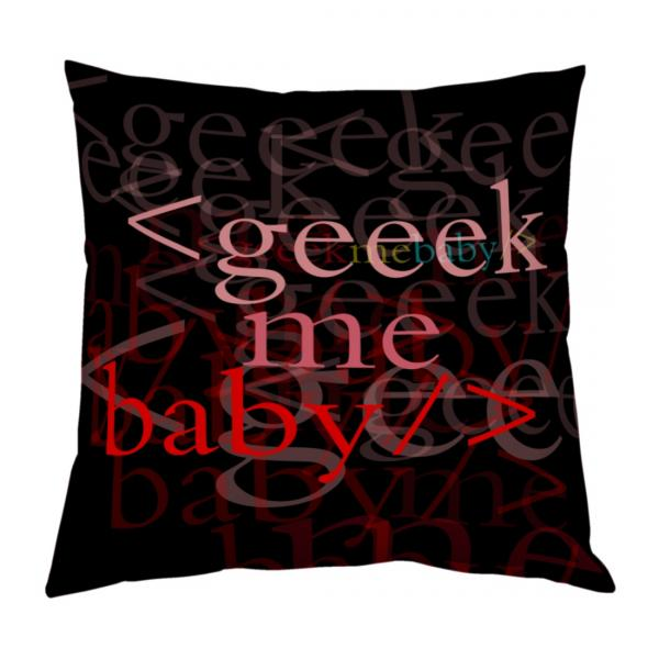 Coussin Geek me baby