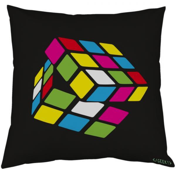 Coussin Geek - Le cube de M. Rubik
