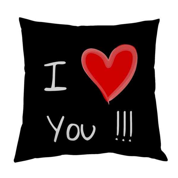 Coussin-i-love-you-noir