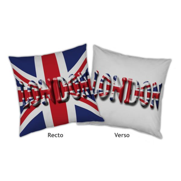 Coussin londres recto verso decodeo - Boutique londres pas cher ...