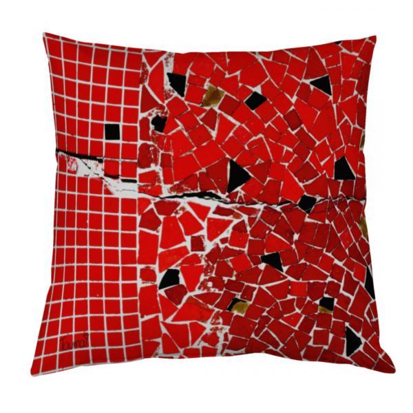 Coussin mozaique