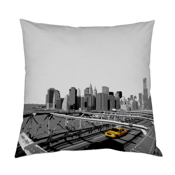 coussin new york Coussin New York Colorisé | Decodeo coussin new york