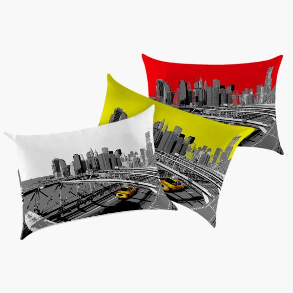 Coussin New-York couleur
