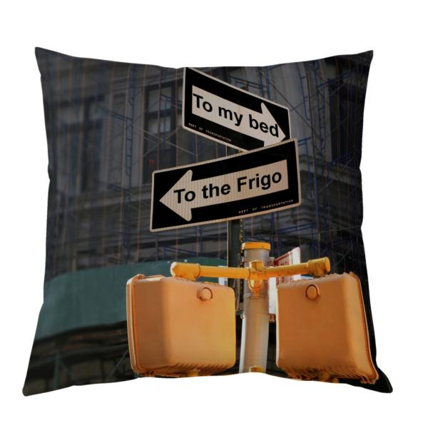 Coussin One Way personnalisable