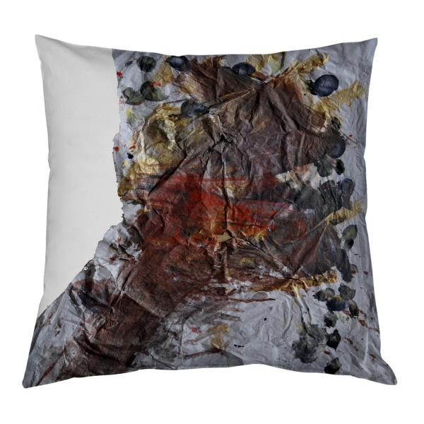 Coussin Nayomi papier et or