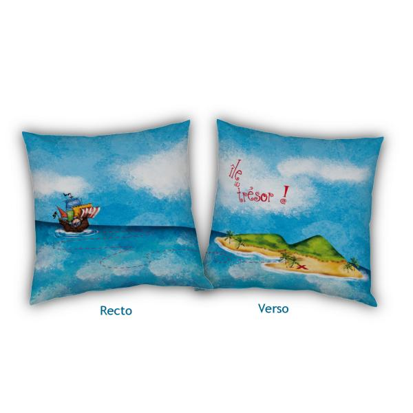 Coussin Pirate personnalisable