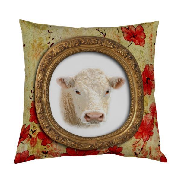 Coussin vache Baroque