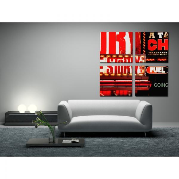 Tableau de Broadway New-York sur toile