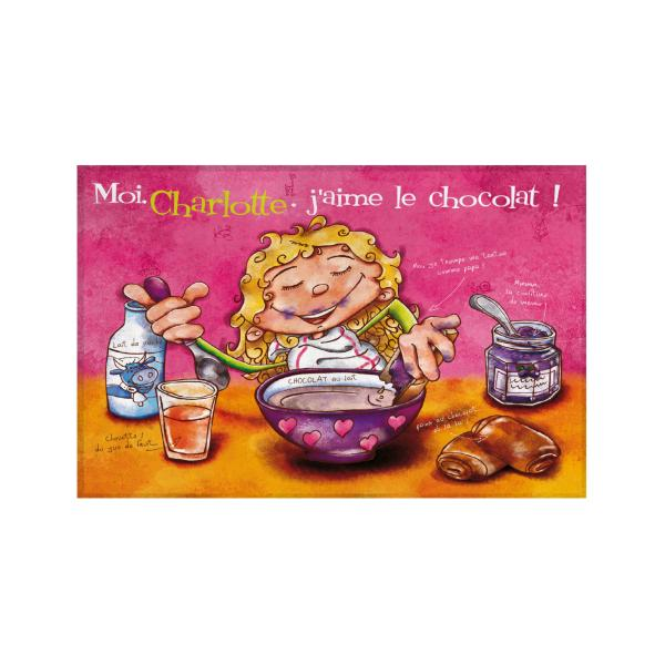 Sets de table Fille personnalisable