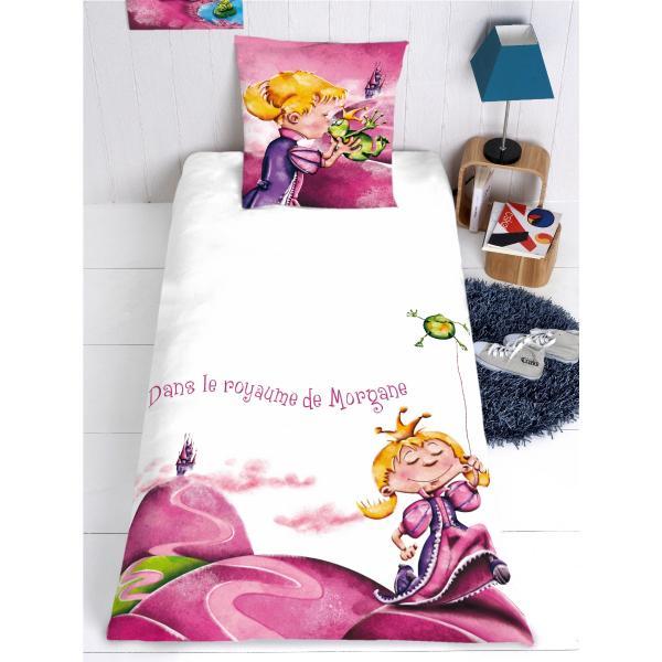 housse de couette princesse personnalisable decodeo. Black Bedroom Furniture Sets. Home Design Ideas