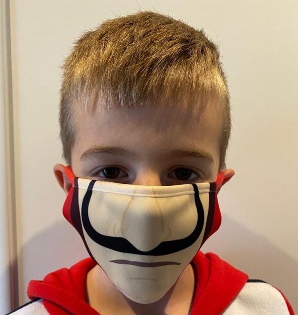 Masque enfant CASA DE PAPEL