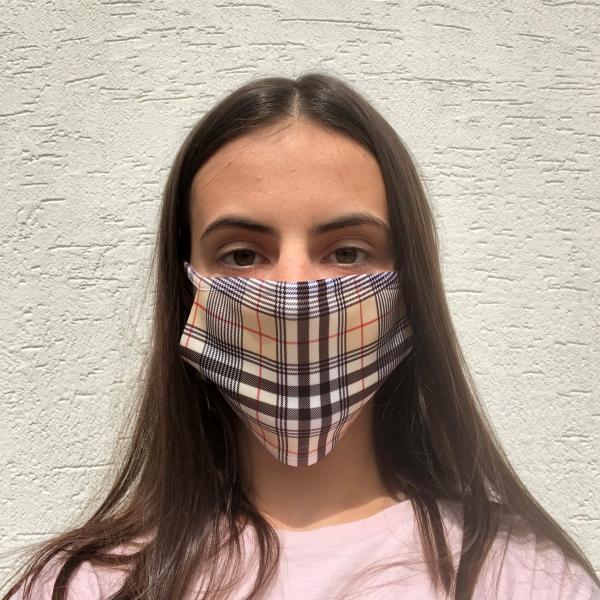 Masque en tissu lavable et réutilisable BURBERRY