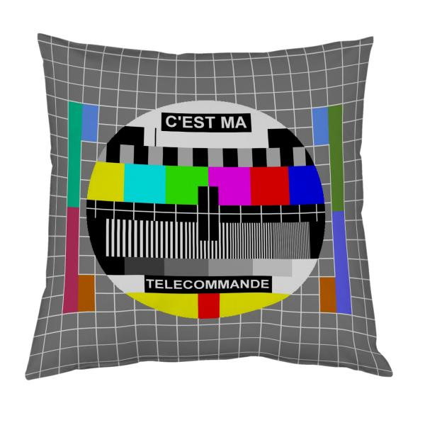Coussin mire TV