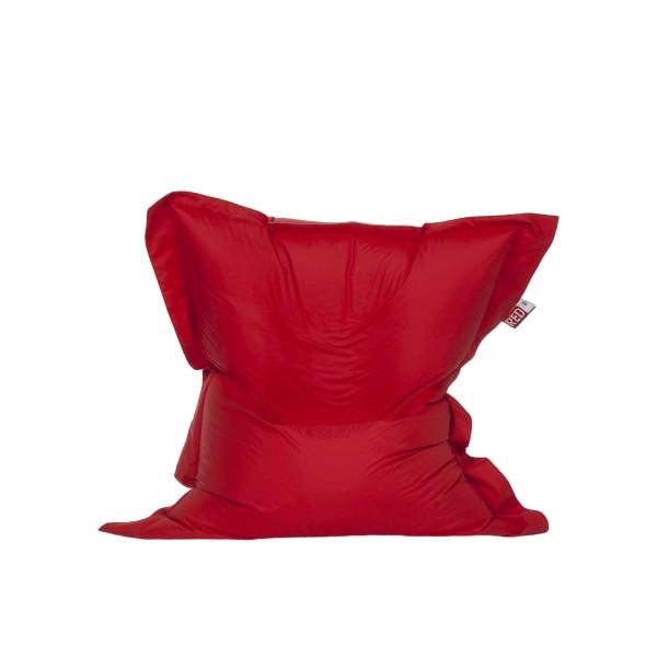 Maxi Pouf Drapeau Anglais Fond Rouge; Red_label_beanbag_red_2