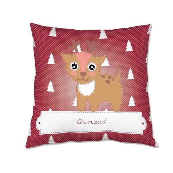 Rudolph souhaite un joyeux Noël à Arnaud.