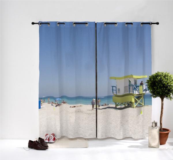 paire de rideaux personnalis s oeillets decodeo. Black Bedroom Furniture Sets. Home Design Ideas