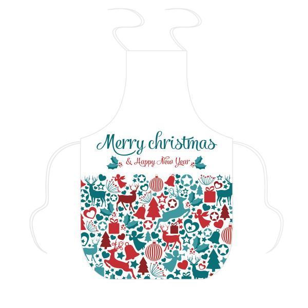 Tablier Noël à personnalisé patchwork