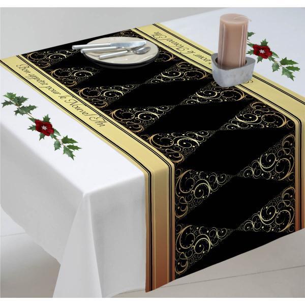 Chemin-table-sapin-or-noir
