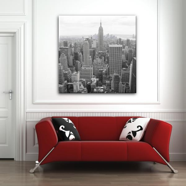 Photo new york noir et blanc images - Toile new york noir et blanc ...
