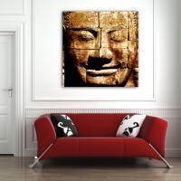 Tableau photo de Bouddha sur toile