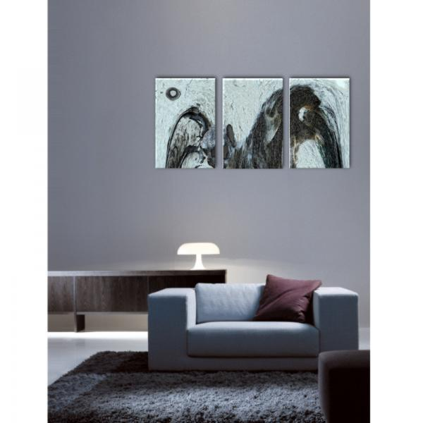 triptyque imprim sur toile decodeo. Black Bedroom Furniture Sets. Home Design Ideas